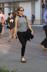 LYNDSY FONSECA Out and About in Hollywood 1902
