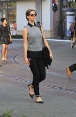 LYNDSY FONSECA Out Shopping in Hollywood