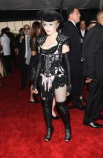 MADONNA at 2015 Grammy Awards in Los Angeles