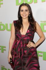 MAE WHITMAN at The Duff Screening in Hollywood