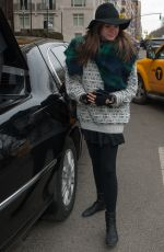 MAIA MITCHELL Out and About in New York 2602