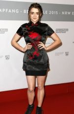 MAISIE WILLIAMS at 2015 Berlinale International Film Festival in Berlin