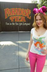 MAITLAND WARD at Disneyland in Anaheim