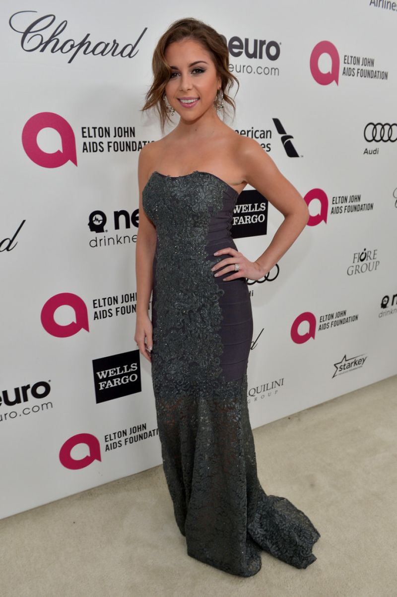 MAKENZIE VEGA at Elton John Aids Foundation's Oscar Viewing Party