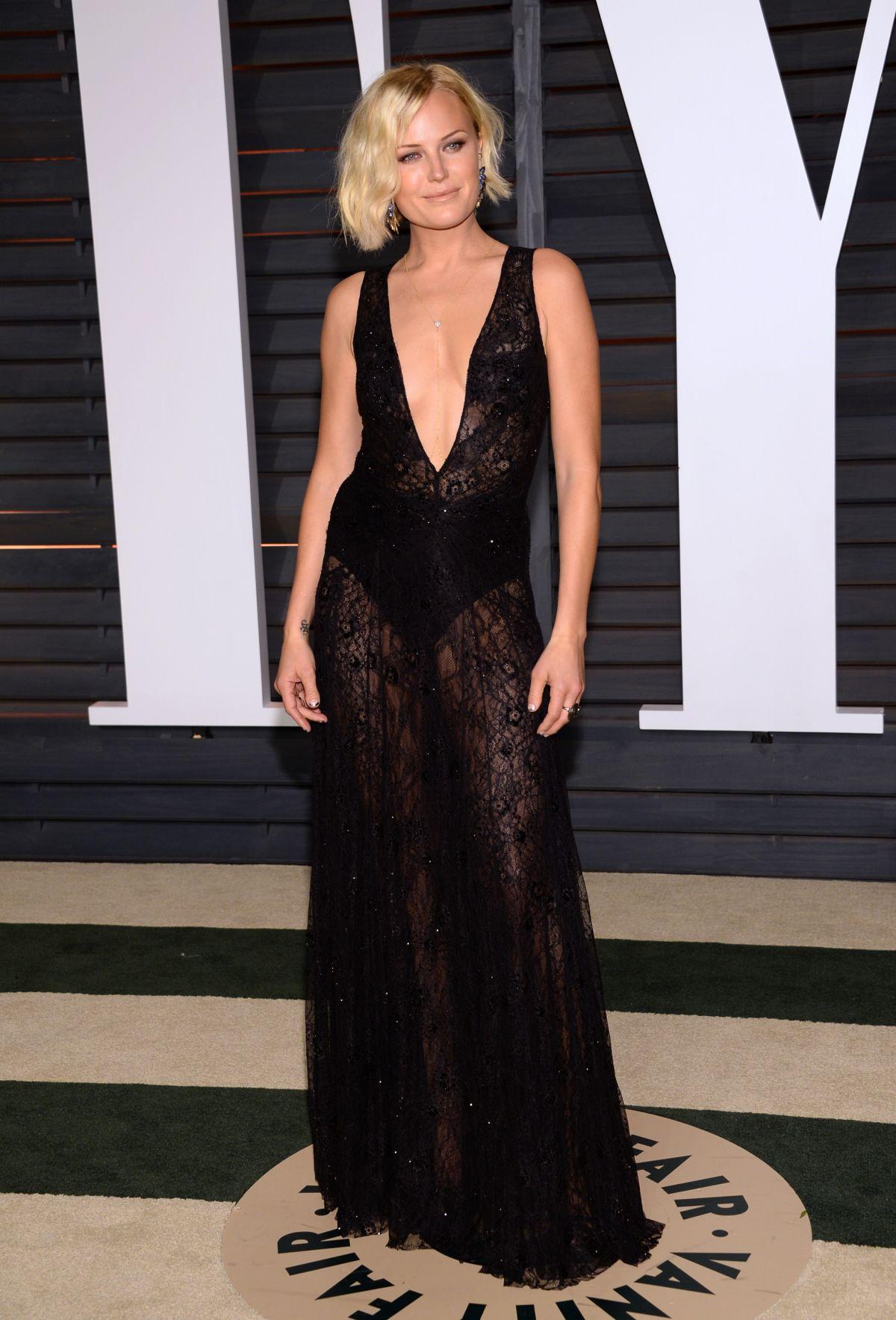 MALIN AKERMAN at Vanity Fair Oscar Party in Hollywood