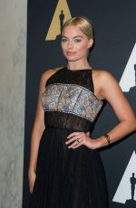 MARGOT ROBBIE at 2015 AMPAS Awards in Beverly Hills