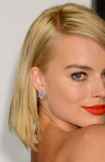 MARGOT ROBBIE at Vanity Fair Oscar Party in Hollywood