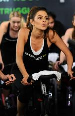 MARIA MENOUNOS at Cycle House in Los Angeles