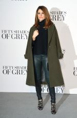 MARIA MENOUNOS at Fifty Shades of Grey Premiere in London