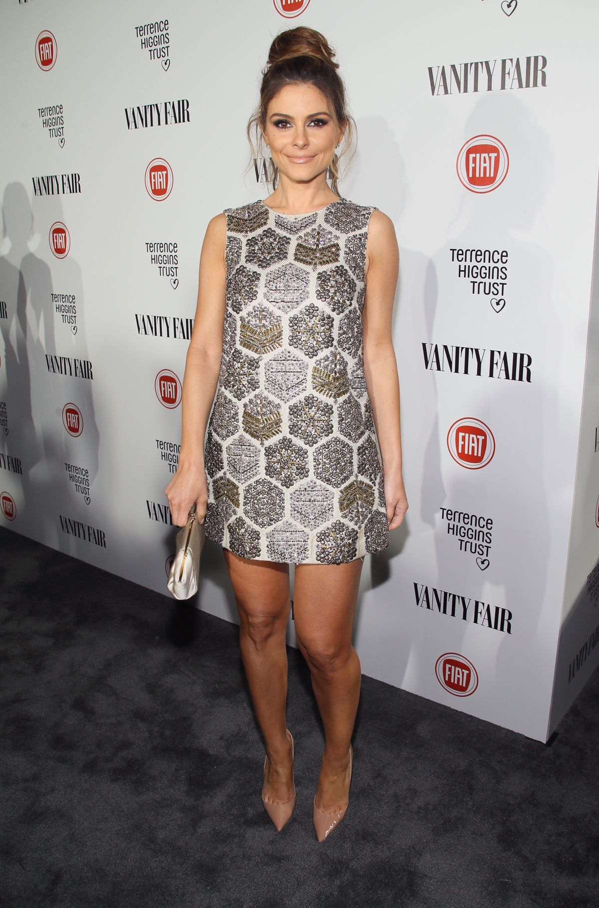 MARIA MENOUNOS at Vanity Fair and Fiat Celebration of Young Hollywood in Los Angeles