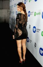 MARIA MENOUNOUS at Warner Music Group Grammy After Party in Los Angeles