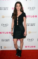 MARIE AVGEROPOULOS at NY Fashion Week Kickoff with Fifty Shades of Fashion Event in New York