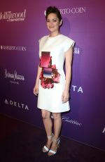 MARION COTILLARD at Hollywood Reporters Nominees Night in Beverly Hills