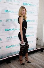 MARTHA HUNT at John Frieda Hair Care Beach Blonde Collection Party in New York