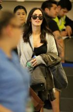 MEGAN FOX Arrives at Los Angeles International Airport 0302