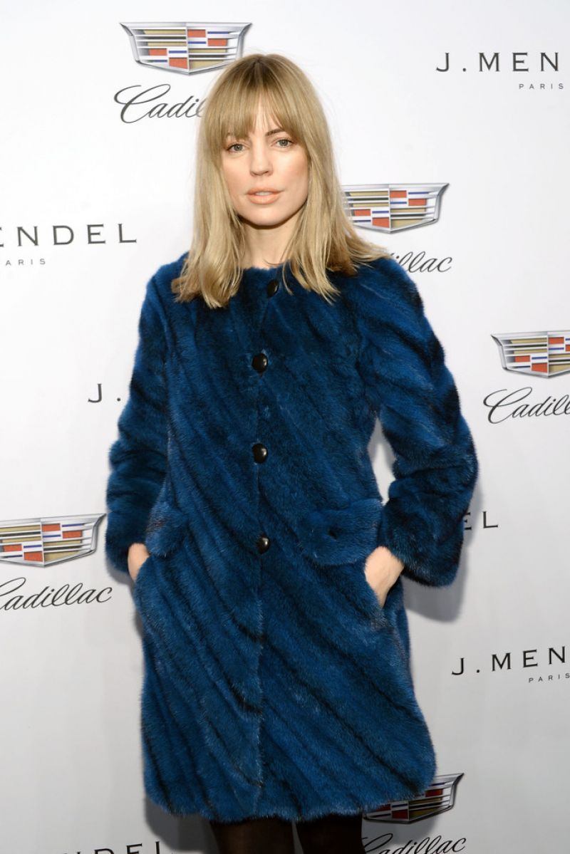 MELISSA GEORGE at J. Mendel Fashion Show in New York
