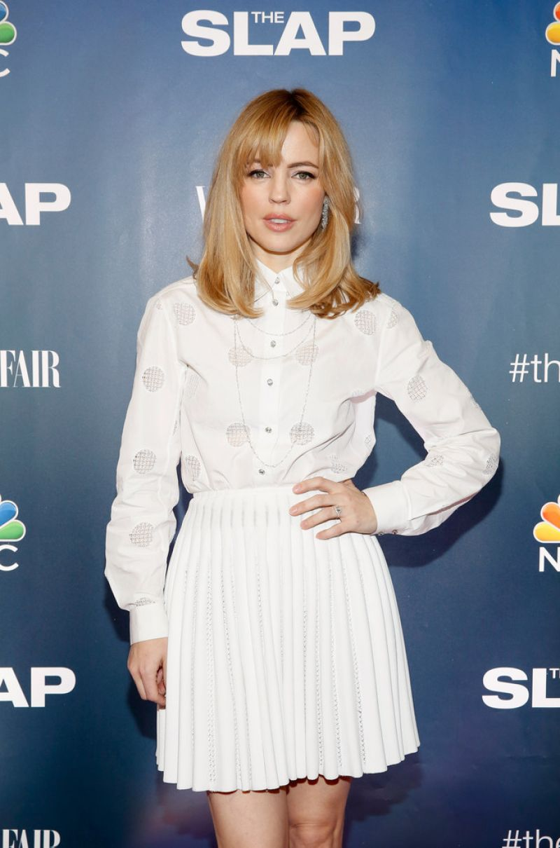 MELISSA GEORGE at The Slap Premiere in New York