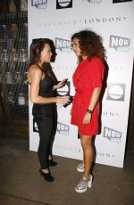 MICHELLE HEATON at Now Wow Launch Party in London