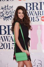 MICHELLE KEEGAN at Brit Awards 2015 in London
