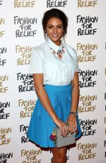 MICHELLE KEEGAN at Fashion for Relief Charity Fashion Show in London