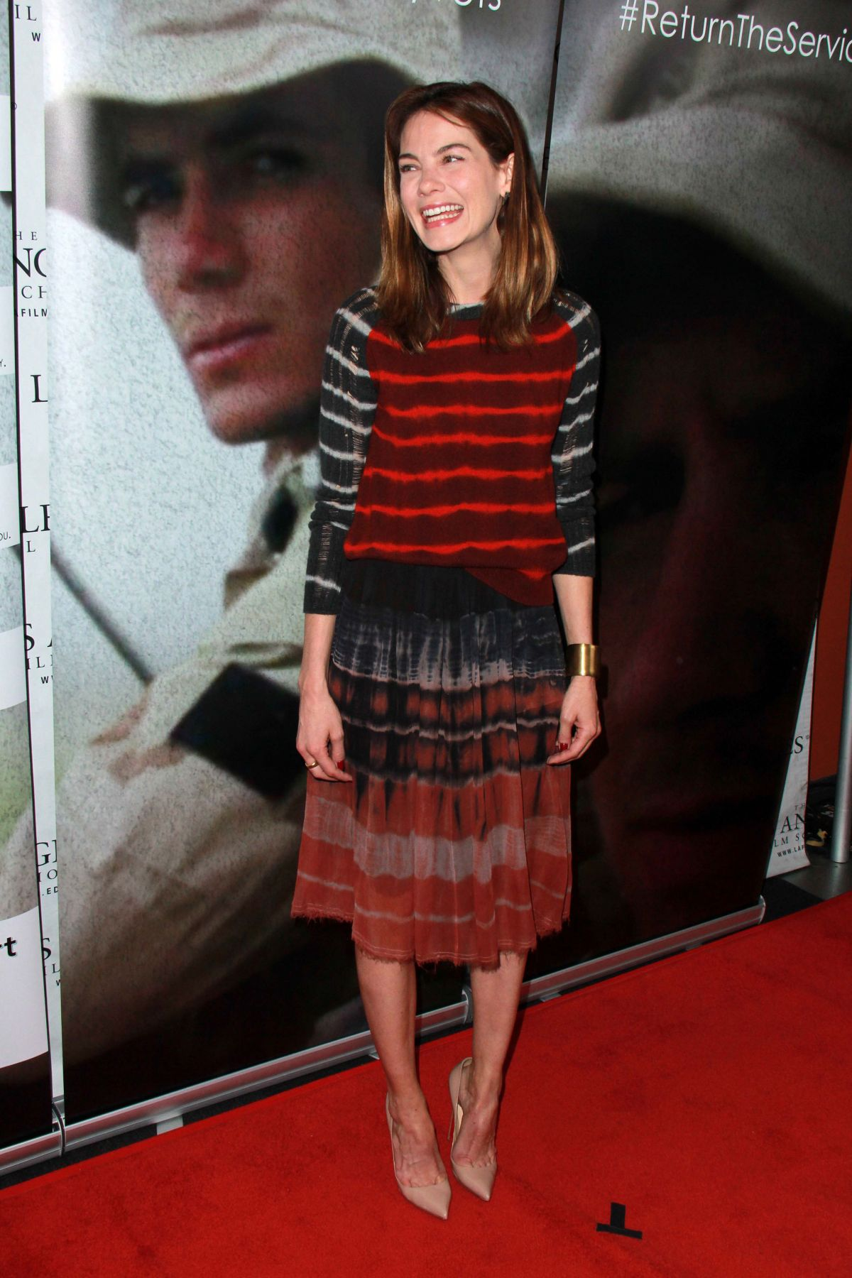 MICHELLE MONAGHAN at That Which I Love Destroys Me Screening in Hollywood