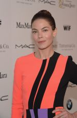 MICHELLE MONAGHAN at Women in Film Pre-oscar Cocktail Party in Los Angeles