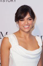 MICHELLE RODRIGUEZ at 2015 Amfar Gala in New York