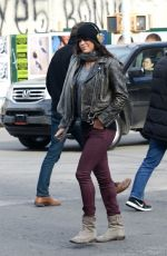 MICHELLE RODRIGUEZ Out and About in New York 1202