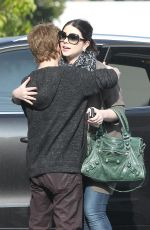 MICHELLE TRACHTENBERG and Seth Green Out in Los Angeles