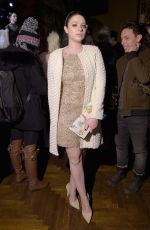 MICHELLE TRACHTENBERG at Alice + Olivia by Stacey Bendet Fashion Show in New York