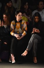 MICHELLE TRACHTENBERG at Naeem Khan Fashion Show in New York