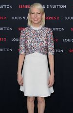 MICHELLE WILLIAMS at Louis Vuitton Series 2 Exhibition in Hollywood