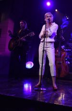 MILEY CYRUS Performs at Saturday Night Live 40th Anniversary Special