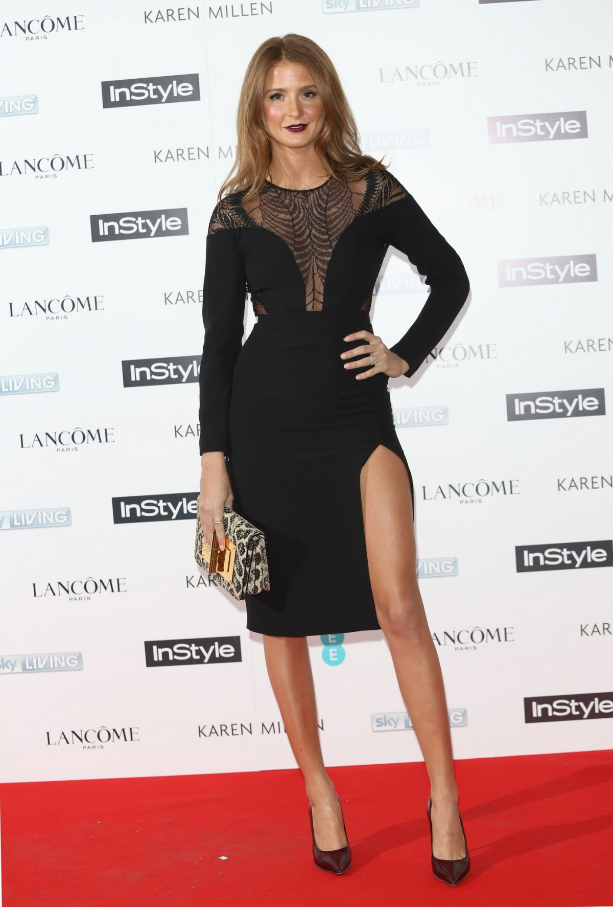 MILLIE MACKINTOSH at Pre-bafta Instyle and EE Rising Star Bash in London
