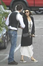 MINNIE DRIVER Out for Lunch in Los Angeles