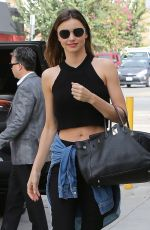 MIRANDA KERR Out and About in Santa Monica 2602