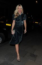 MOLLIE KING Arrives at Diorama Launch at Dover Street Market