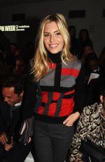 mollie king - daks fashion show in london 2/20/2015