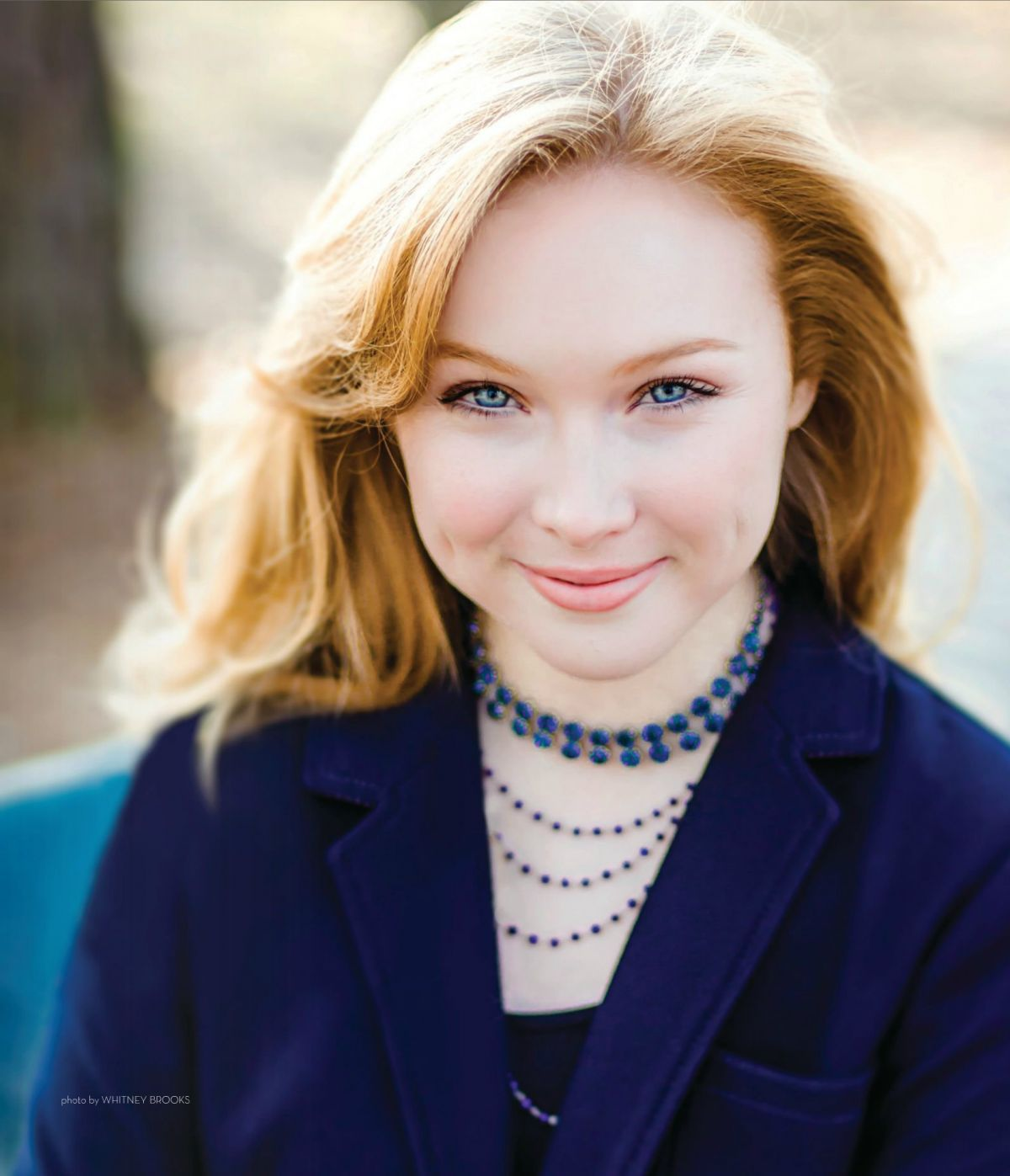 Molly Quinn MOLLY QUINN in States Living Magazine February 2015 Issue