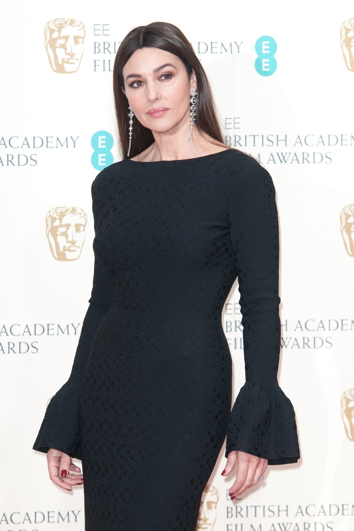 MONICA BELLUCCI at 2015 EE British Academy Film Awards in London ... Monica Bellucci