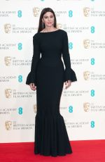MONICA BELLUCCI at 2015 EE British Academy Film Awards in London