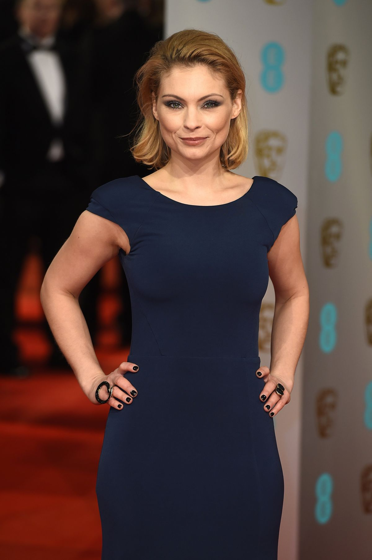 MYANNA BURING at 2015 EE British Academy Film Awards in London