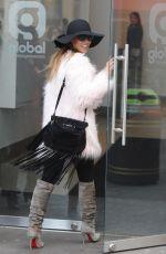 MYLEENE KLASS Arrives at Smooth FM in London