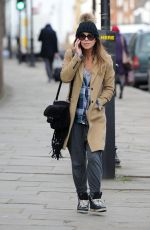 MYLEENE KLASS Out and About in London 0202