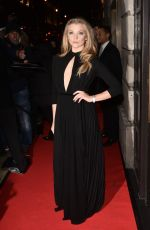 NATALIE DORMER at Bafta Film Gala Dinner in London