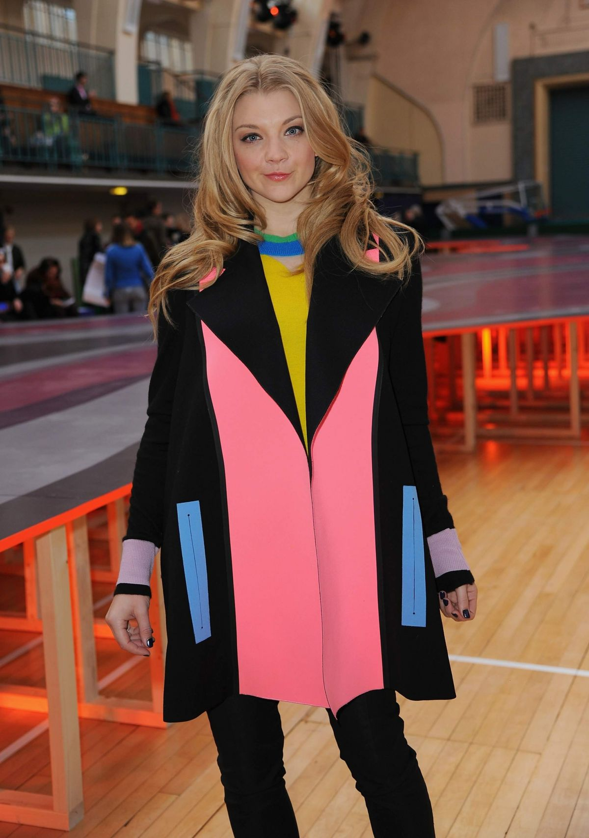 NATALIE DORMER at Roksanda Fashion Show in London