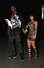 NICKI MINAJ Arrives at House of Blues
