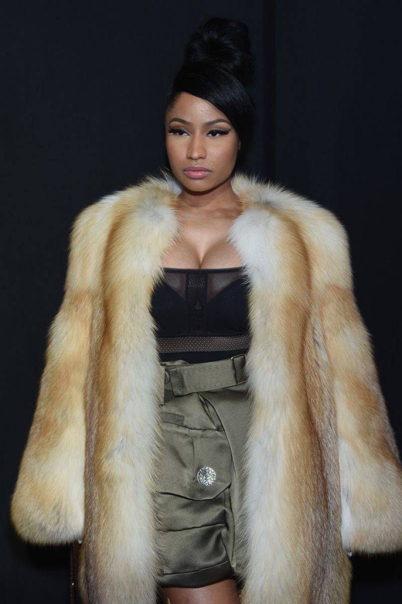 Nicki Minaj At Marc Jacobs Fashion Show In New York Hawtcelebs