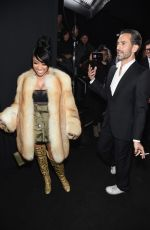 NICKI MINAJ at Marc Jacobs Fashion Show in New York