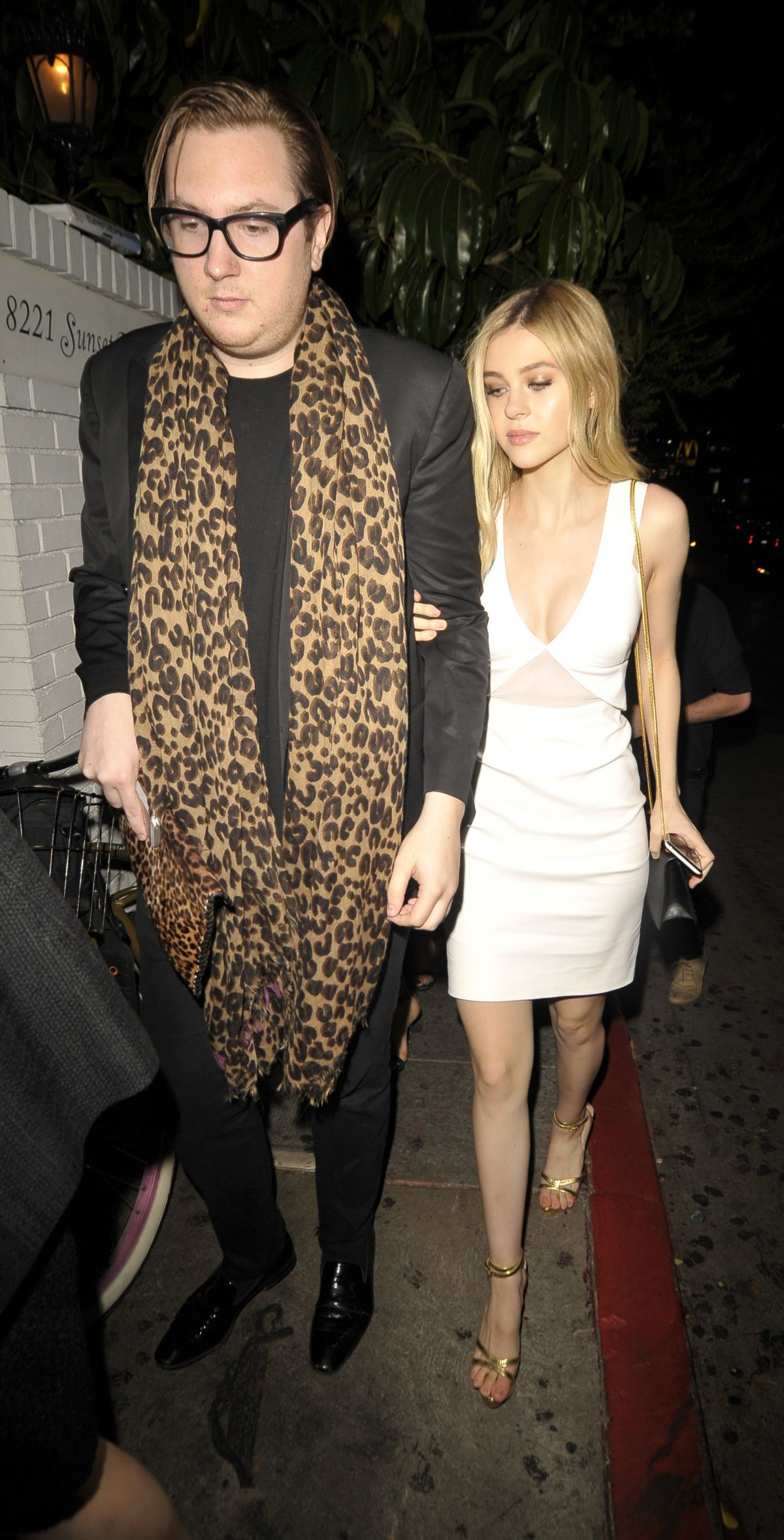 NICOLA PELTZ Arrives at Chateau Marmont in West Hollywood